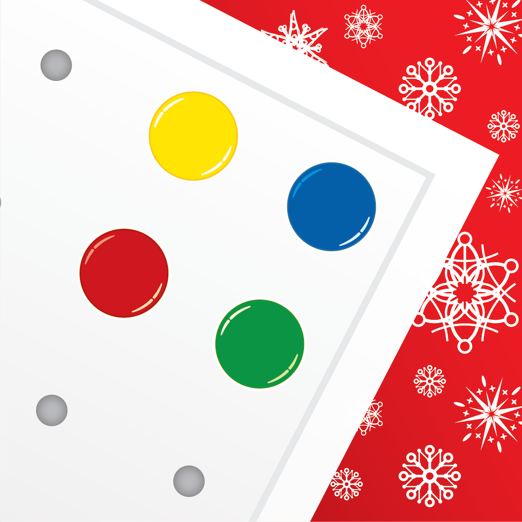 Christmas Pegboard by Cleverkiddo